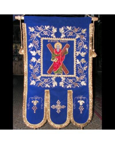 Prapor brodat Sf.Apostol Andrei