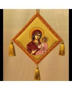 Bedernita brodata manual Maica Domnului